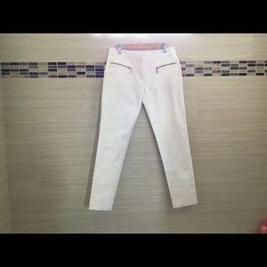 Michael Kors White Skinny Stretch Pants